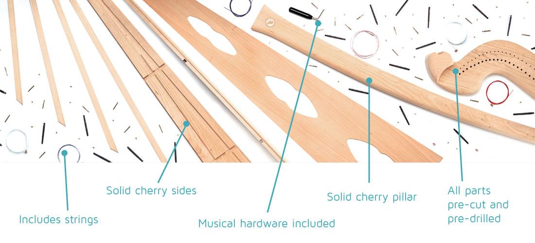 Voyageur Harp Kit Musicmakers