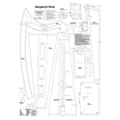 Shepherd Harp Plan