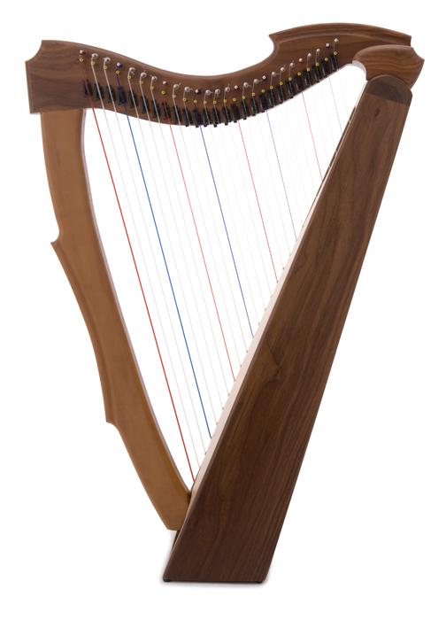 musicmakers  limerick lap harp