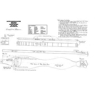 Electric Dulcimer Plan Download Musicmakers