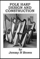 Folk Harp Design and Construction Book Cover