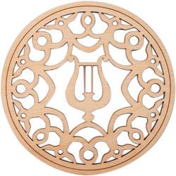 Décorations pour harpe Kinnor