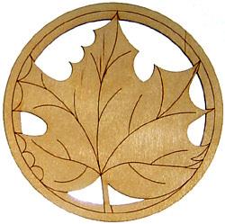 Décorations pour harpe LeafNEW